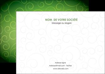 personnaliser modele de flyers vert vignette fonce MLIG62186