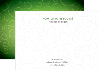 personnaliser modele de flyers vert vignette fonce MIF62186