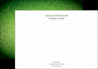 maquette en ligne a personnaliser flyers vert vignette fonce MIF62192