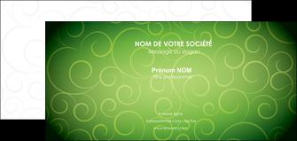 creer modele en ligne carte de correspondance vert vignette fonce MLIG62196