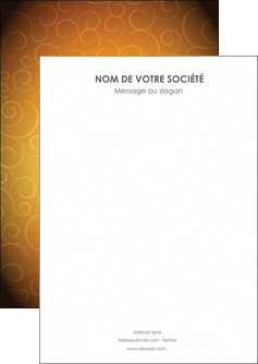 faire flyers bijouterie dore abstrait abstraction MIF62214