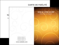 imprimer carte de visite bijouterie dore abstrait abstraction MLIG62220