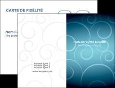 realiser carte de visite abstrait arabique design MLGI62272