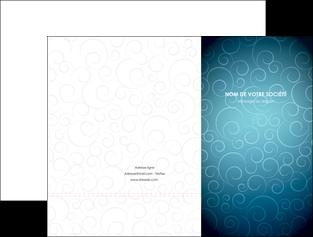 faire pochette a rabat abstrait arabique design MLGI62276