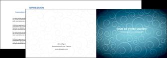 imprimer depliant 2 volets  4 pages  abstrait arabique design MLGI62280