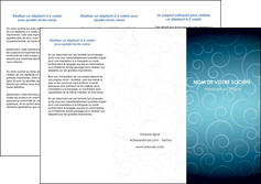 realiser depliant 3 volets  6 pages  abstrait arabique design MLGI62288