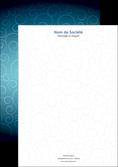 imprimer tete de lettre abstrait arabique design MLGI62295