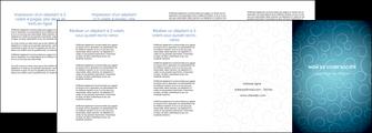 modele depliant 4 volets  8 pages  abstrait arabique design MLGI62306