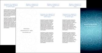 faire depliant 4 volets  8 pages  abstrait arabique design MLGI62310