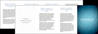 cree depliant 4 volets  8 pages  abstrait arabique design MLGI62312