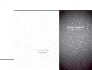 personnaliser modele de pochette a rabat abstrait arabique design MIF62326