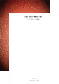 personnaliser modele de affiche rouge couleur couleurs MLGI62380