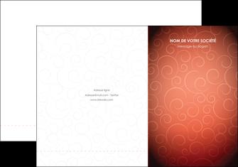 faire modele a imprimer pochette a rabat rouge couleur couleurs MLGI62390