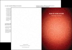 personnaliser modele de depliant 2 volets  4 pages  rouge couleur couleurs MLGI62416
