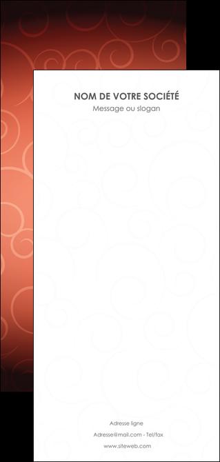 personnaliser modele de flyers rouge couleur couleurs MLGI62426