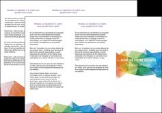 Impression Dépliants Graphisme devis d'imprimeur publicitaire professionnel Dépliant 6 pages pli accordéon DL - Portrait (10x21cm lorsque fermé)