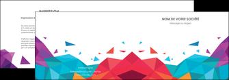 personnaliser modele de depliant 2 volets  4 pages  couleur couleurs colore MIF62722