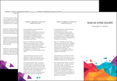 Impression dépliants 2 volets printshop  papier à prix discount et format Dépliant 6 pages pli accordéon DL - Portrait (10x21cm lorsque fermé)