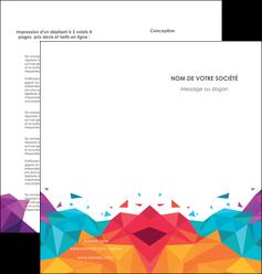 cree depliant 2 volets  4 pages  couleur couleurs colore MIF62734