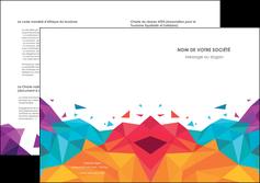 creation graphique en ligne depliant 2 volets  4 pages  couleur couleurs colore MIF62746