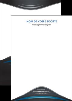 modele en ligne flyers gris bleu couleurs froides MLGI62770
