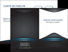 maquette en ligne a personnaliser carte de visite gris bleu couleurs froides MLIG62776