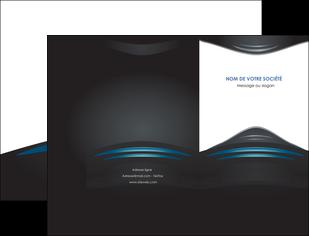 imprimerie pochette a rabat gris bleu couleurs froides MLIG62778