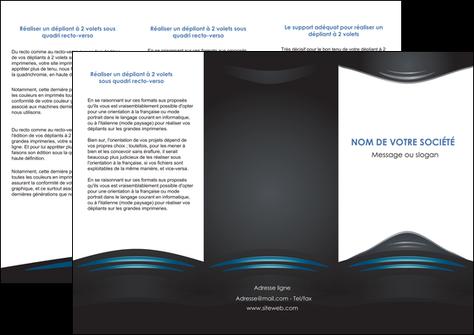 faire modele a imprimer depliant 3 volets  6 pages  gris bleu couleurs froides MLGI62792