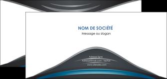 imprimer flyers gris bleu couleurs froides MLIG62802