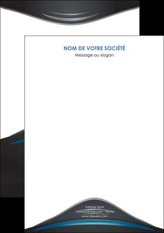 exemple affiche gris bleu couleurs froides MLGI62808