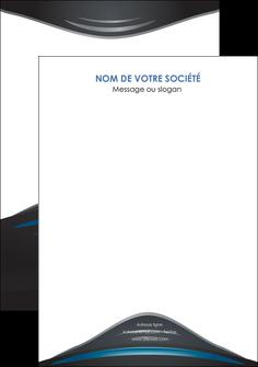 personnaliser modele de flyers gris bleu couleurs froides MLIG62812
