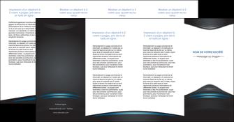 modele en ligne depliant 4 volets  8 pages  gris bleu couleurs froides MLIG62814