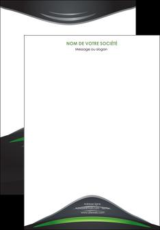 personnaliser maquette affiche gris vert vintage MIF62824