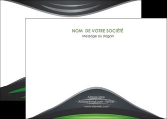 imprimerie flyers gris vert vintage MIF62846