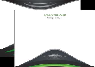 maquette en ligne a personnaliser flyers gris vert vintage MIF62852
