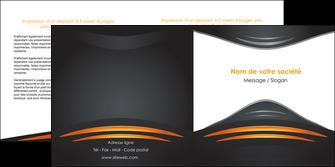 imprimer depliant 2 volets  4 pages  bijouterie gris or vintage MIF62900