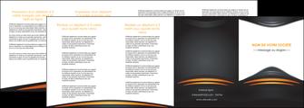 creation graphique en ligne depliant 4 volets  8 pages  bijouterie gris or vintage MIF62914
