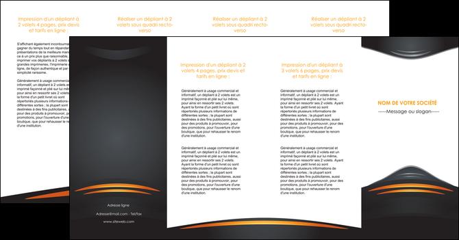 modele depliant 4 volets  8 pages  bijouterie gris or vintage MLGI62918