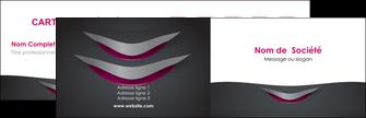 modele en ligne carte de visite gris gris fonce mat MIF63472