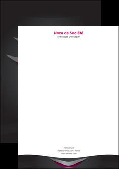Impression Papier entête de lettre  devis d'imprimeur publicitaire professionnel Tête de lettre A4