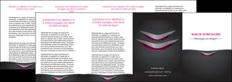 creation graphique en ligne depliant 4 volets  8 pages  gris gris fonce mat MIF63512