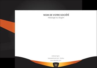 personnaliser maquette affiche web design noir simple professionnel MLIG63586