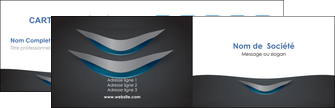 creation graphique en ligne carte de visite gris gris fonce mat MIF63628
