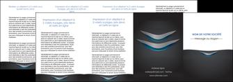 personnaliser modele de depliant 4 volets  8 pages  gris gris fonce mat MIF63668