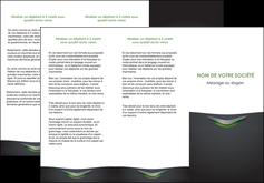 impression depliant 3 volets  6 pages  gris fond metallise MLGI63750