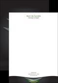 personnaliser maquette tete de lettre gris fond metallise MLGI63756