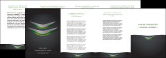 exemple depliant 4 volets  8 pages  gris fond metallise MLGI63766