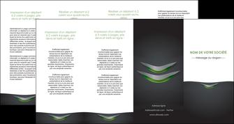 personnaliser modele de depliant 4 volets  8 pages  gris fond metallise MLIG63770