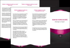 impression depliant 3 volets  6 pages  gris gris fonce mat MLGI63854