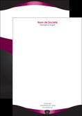 personnaliser modele de tete de lettre gris gris fonce mat MLGI63860